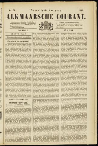 Alkmaarsche Courant 1888-06-17