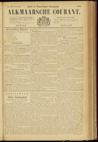 Alkmaarsche Courant 1896-03-29