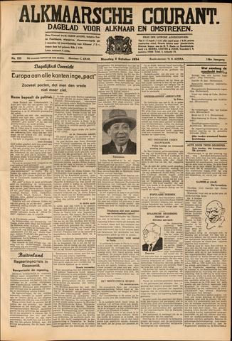Alkmaarsche Courant 1934-10-02