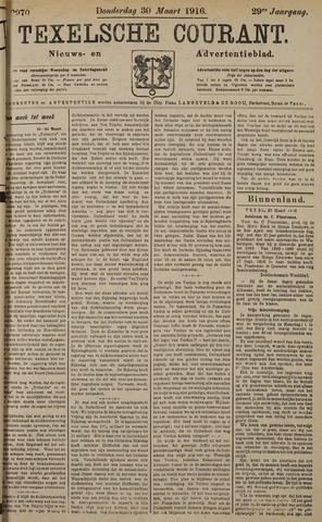 Texelsche Courant 1916-03-30