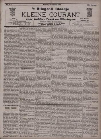 Vliegend blaadje : nieuws- en advertentiebode voor Den Helder 1900-09-12