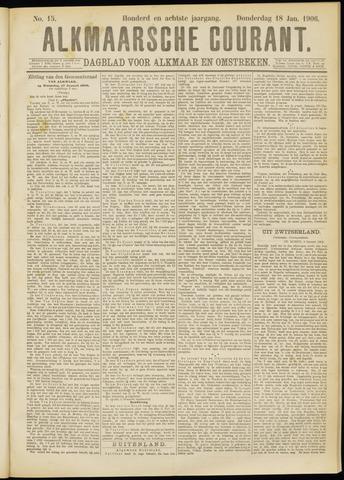 Alkmaarsche Courant 1906-01-18