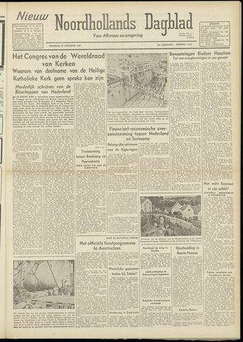 Nieuw Noordhollandsch Dagblad : voor Alkmaar en omgeving 1948-08-23