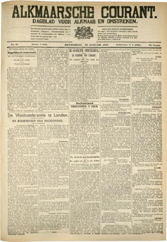 Alkmaarsche Courant 1930-01-23