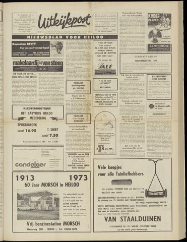 Uitkijkpost : nieuwsblad voor Heiloo e.o. 1973-03-28