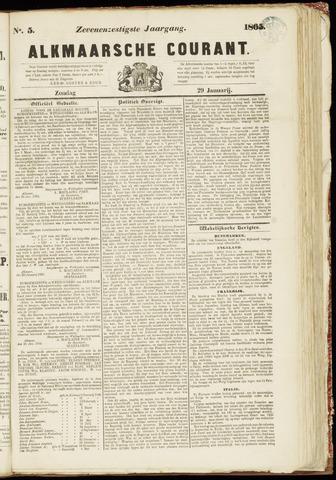 Alkmaarsche Courant 1865-01-29
