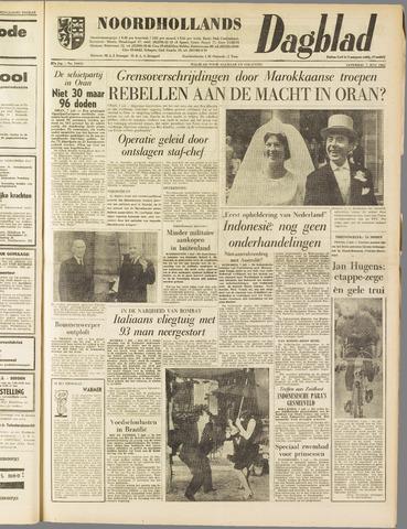 Noordhollands Dagblad : dagblad voor Alkmaar en omgeving 1962-07-07