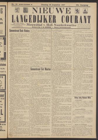 Nieuwe Langedijker Courant 1927-08-23