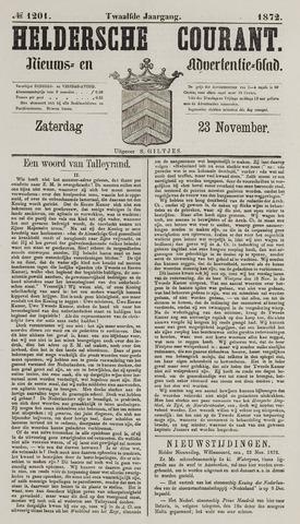 Heldersche Courant 1872-11-23