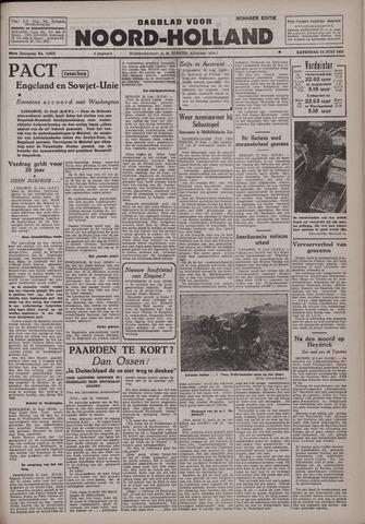 Dagblad Noord-Holland, Schager editie 1942-06-13
