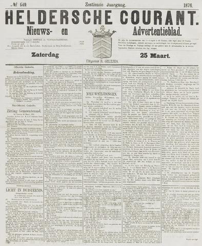 Heldersche Courant 1876-03-25