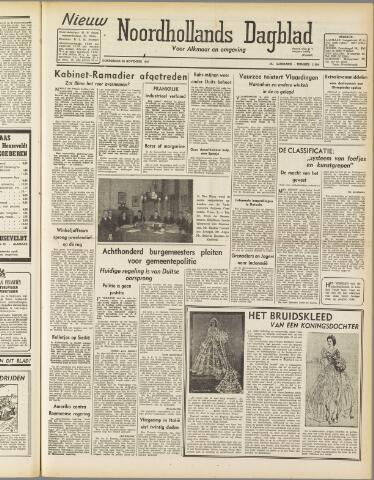 Nieuw Noordhollandsch Dagblad : voor Alkmaar en omgeving 1947-11-20