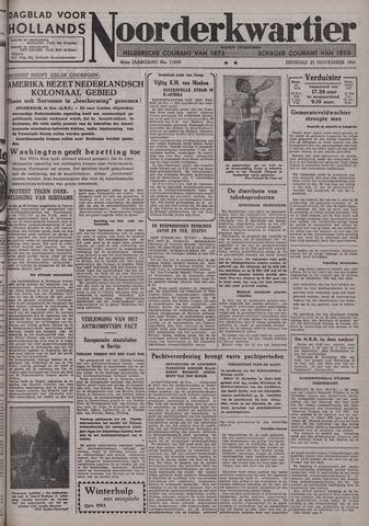 Dagblad voor Hollands Noorderkwartier 1941-11-25