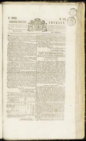 Alkmaarsche Courant 1841-08-23