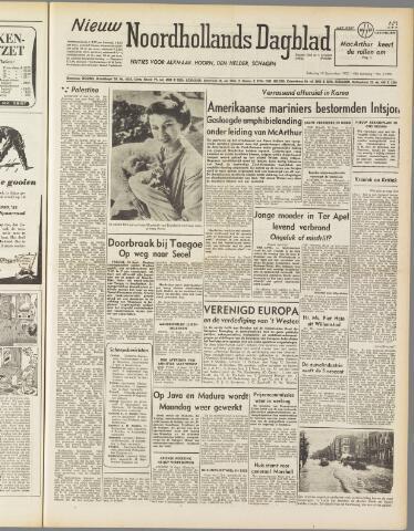 Nieuw Noordhollandsch Dagblad : voor Alkmaar en omgeving 1950-09-16