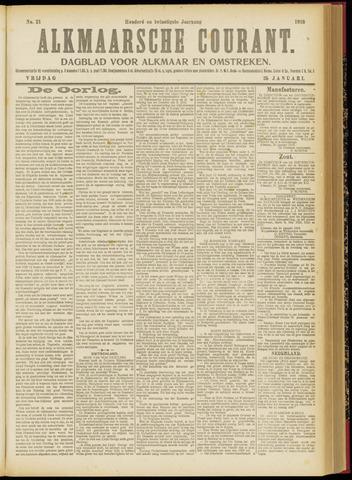 Alkmaarsche Courant 1918-01-25