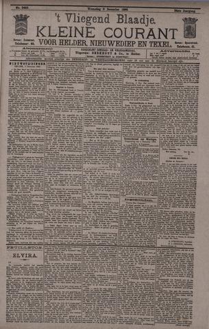 Vliegend blaadje : nieuws- en advertentiebode voor Den Helder 1896-12-09