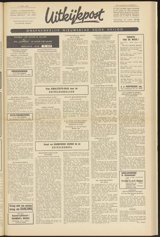Uitkijkpost : nieuwsblad voor Heiloo e.o. 1963-04-18
