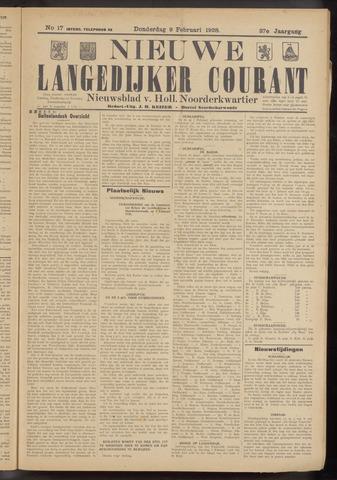 Nieuwe Langedijker Courant 1928-02-09
