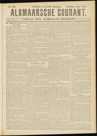 Alkmaarsche Courant 1905-12-05
