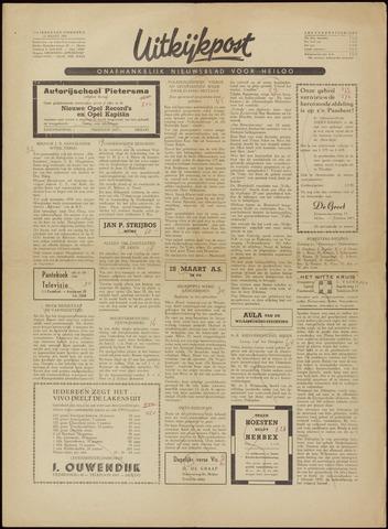 Uitkijkpost : nieuwsblad voor Heiloo e.o. 1956