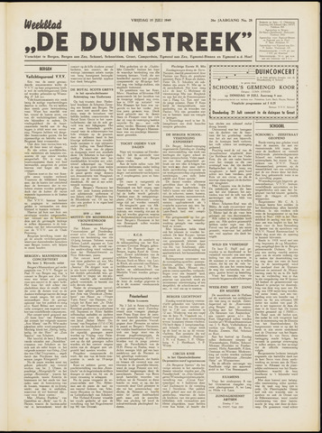 De Duinstreek 1949-07-15