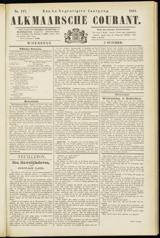 Alkmaarsche Courant 1889-10-02