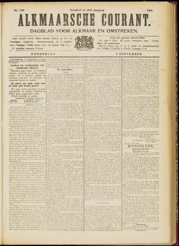 Alkmaarsche Courant 1909-09-09