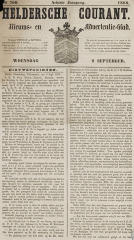 Heldersche Courant 1868-09-09