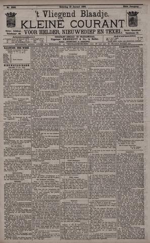 Vliegend blaadje : nieuws- en advertentiebode voor Den Helder 1896-01-18