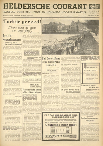 Heldersche Courant 1940-03-01