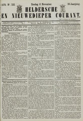 Heldersche en Nieuwedieper Courant 1870-11-06