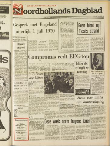 Noordhollands Dagblad : dagblad voor Alkmaar en omgeving 1969-12-03