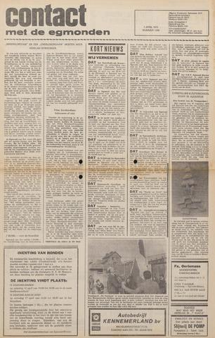 Contact met de Egmonden 1976-04-07
