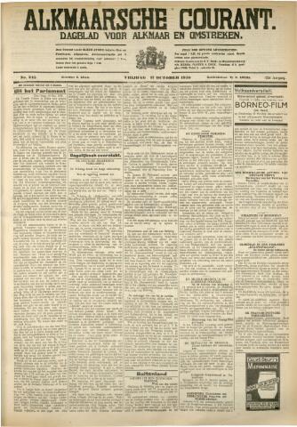 Alkmaarsche Courant 1930-10-17