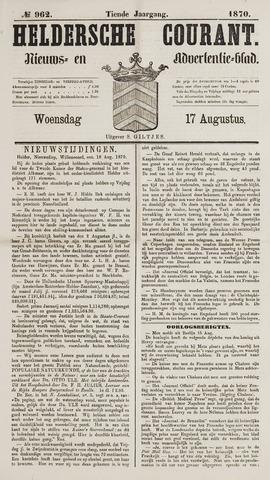 Heldersche Courant 1870-08-17