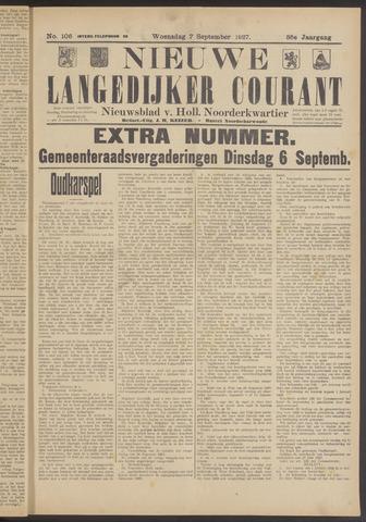 Nieuwe Langedijker Courant 1927-09-07