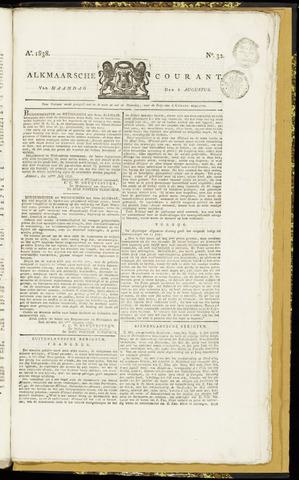 Alkmaarsche Courant 1838-08-06