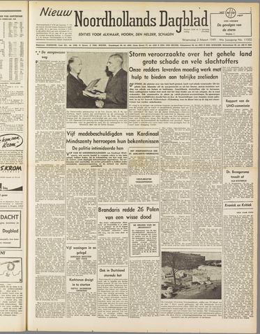 Nieuw Noordhollandsch Dagblad : voor Alkmaar en omgeving 1949-03-02