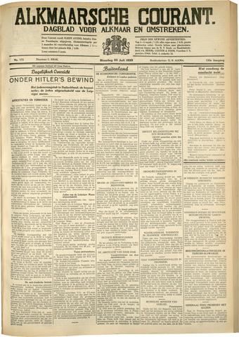 Alkmaarsche Courant 1933-07-25