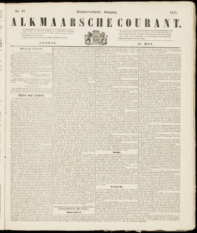 Alkmaarsche Courant 1874-05-24