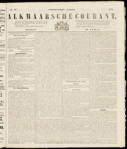 Alkmaarsche Courant 1876-04-30