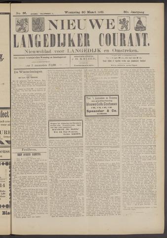 Nieuwe Langedijker Courant 1921-03-30