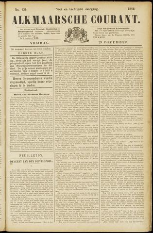 Alkmaarsche Courant 1882-12-29