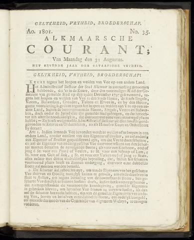 Alkmaarsche Courant 1801-08-31