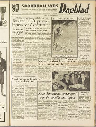 Noordhollands Dagblad : dagblad voor Alkmaar en omgeving 1958-11-08