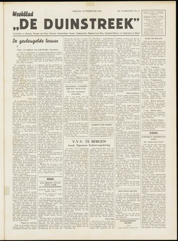 De Duinstreek 1952-02-29