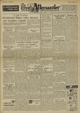 De Vrije Alkmaarder 1950-02-10