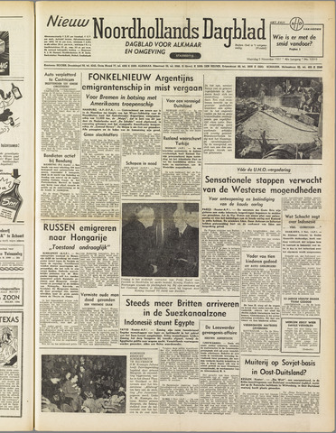 Nieuw Noordhollandsch Dagblad : voor Alkmaar en omgeving 1951-11-05