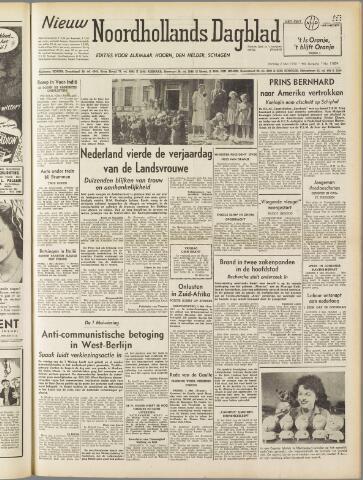 Nieuw Noordhollandsch Dagblad : voor Alkmaar en omgeving 1950-05-02